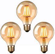 3x Vintage LED 4W neu
