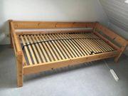 Jugendbett Holz 1 x 2