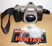 Pentax MZ-7 Spiegelreflex Kamera Objektiv
