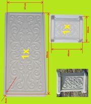 DIY Beton form Gießform Schalungsform