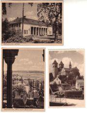 Alte Ansichtskarten Klosterlausnitz