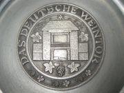 Zinnteller Das Deutsche Weintor mit