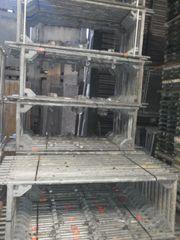 161 m² gebrauchtes Gerüst Layher
