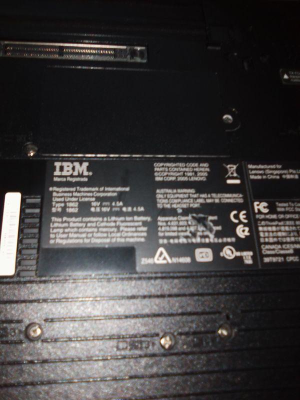 IBM THINK PAD