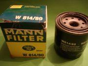 Motorölfilter MANN W814 80 Bosch