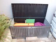 Aufbewahrungsbox für Polster u Gartengeräte