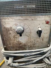Schweißapparat zu verkaufen