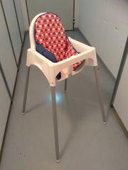 Ikea Hochstuhl mit Kissen