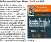 Haushaltsauflösung Berlin preiswert Kleinaufträge