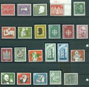 Bund postfrisch Jahrgang 1956 komplett
