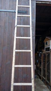 Alte Holzleitern - versch Längen