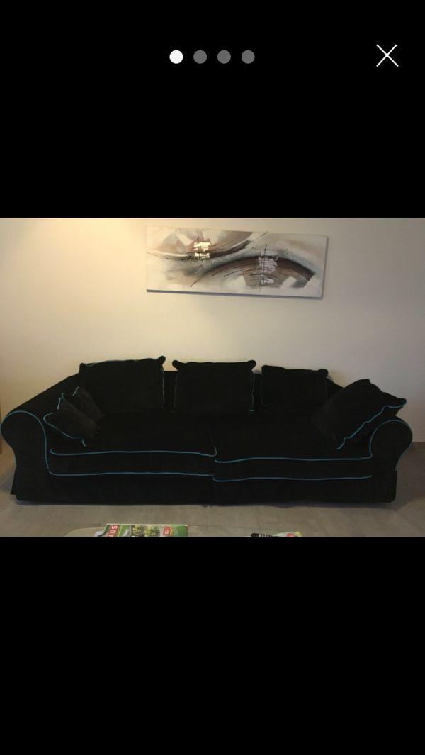Big Sofa 3 Sitzer Mit Hocker In Erlenbach Polster Sessel Couch