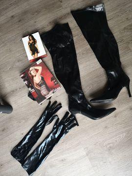 Erotik Outfit Overknees Handschuhe Dessous: Kleinanzeigen aus Bingen - Rubrik Sexspielzeug