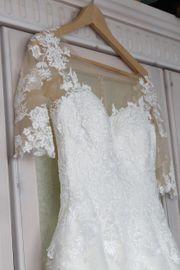 weißes Brautkleid Hochzeitskleid 6191 Sweetheart