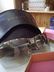 Gucci Sonnenbrille im Orginaletui