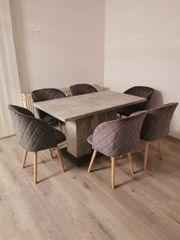 Neu Tisch in betonoptik Farbe