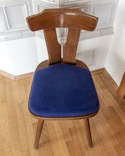 4 alte Stühle Original Plank