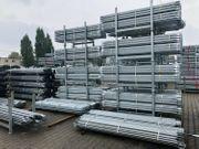Stahl Gerüst 204 qm 24x8