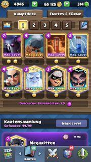 Clash Royale Level 13