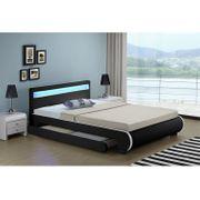 Polsterbett Bett Bettkasten B140 schwarz