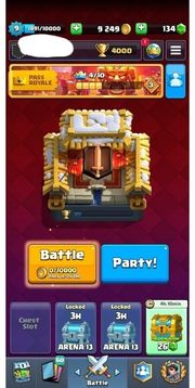 Clash royal guter arena 13
