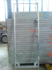 Alu-Stahl-Gerüst Baugerüst ca 159m² Layher
