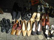 14Paar Damen Marken Schuhe gebraucht