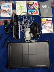 Spielkonsole Wii komplett ausgestattet