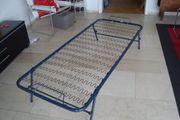 Stabiles Gästebett mit Matratze