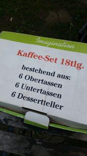 KAFFEE SET 18 TEILIG