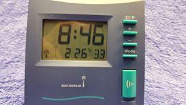 Bild 4 - LCD Funkwecker blau türkis NEU - Leverkusen