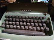 Antike Schreibmaschine Alpina tw01 ca