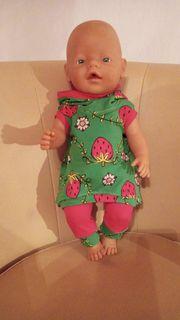 Puppenkleidung 2-teilig für Baby Born