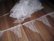 Wimpelketten aus Spitze