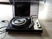 Schallplattenspieler Telefunken Liftomatic Box im