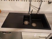 Schwarze Spüle Küche ikea