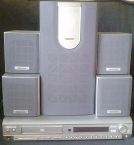 Heimkinoanlage CD/DVD Player, Radio und Dolby Digital Verstärker