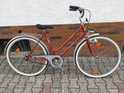 Damenrad Alfira 28 verkehrssicher nach