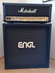 Marshall Top und Engl Box