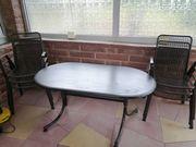 Gartentisch mit Stühlen Sitzgruppe