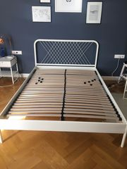 IKEA Bett Nesttun - 140x200cm inkl