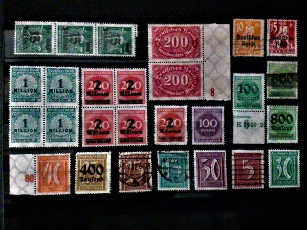 Briefmarken Deutsches Reich Altdeutschland - 2