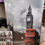 Bilder 3 Stück London zwei