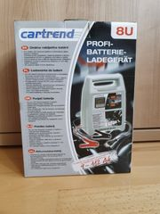 Cartrend Profi-Batterieladegerät neu 8 Ampere