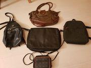 Taschensammlung 5 verschiedene Modelle