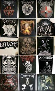 Metal Punk Backpatches Rückenaufnäher