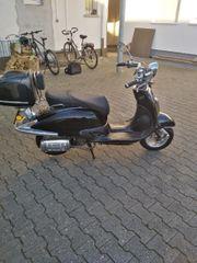 Retro Roller Firenze mit Topcase
