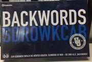 Backwords Sdrowkcab neu und Original