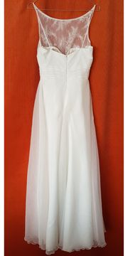 Bodenlanges Brautkleid - Farbe Ivory - Größe