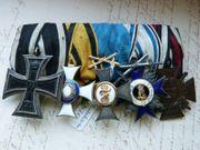 Ordensspange mit Württemberg Militärverdienstorden und